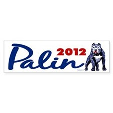 Palin 2012 Bumper Bumper Sticker
