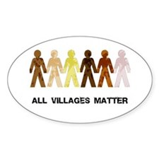 Riyah-Li Designs All Villages Matter Decal