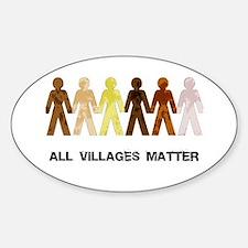 Riyah-Li Designs All Villages Matter Decal