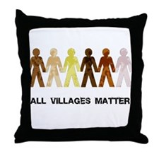Riyah-Li Designs All Villages Matter Throw Pillow