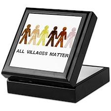 Riyah-Li Designs All Villages Matter Keepsake Box