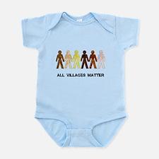 Riyah-Li Designs All Villages Matter Infant Bodysu