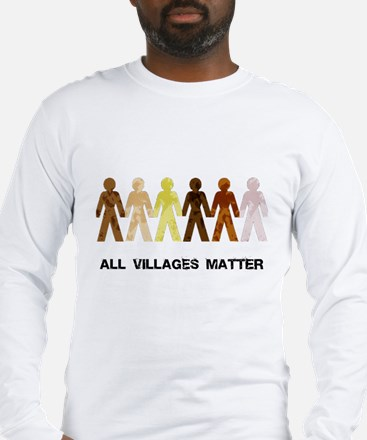 Riyah-Li Designs All Villages Matter Long Sleeve T