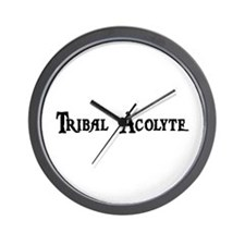 Tribal Acolyte Wall Clock