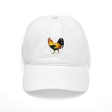Rooster Chicken Baseball Cap