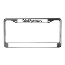 Tribal Apothecary License Plate Frame