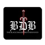 Black dagger brotherhood Classic Mousepad