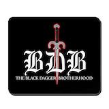 Black dagger brotherhood Mouse Pads