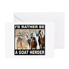 GOAT HERDER Greeting Cards (Pk of 20)
