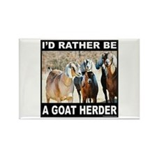 GOAT HERDER Rectangle Magnet