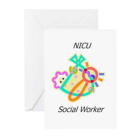 NICU Social Worker Greeting Cards (Pk of 20)