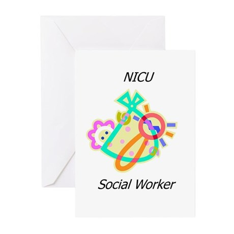 NICU Social Worker Greeting Cards (Pk of 10)