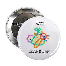 """NICU Social Worker 2.25"""" Button"""