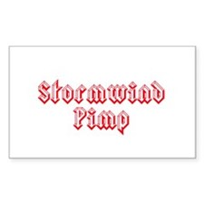 Stormwind Pimp Rectangle Decal