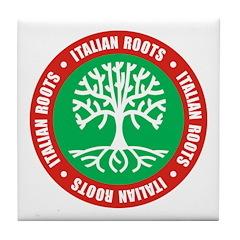 Italian Roots Tile Coaster