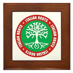 Italian Roots Framed Tile