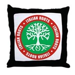 Italian Roots Throw Pillow