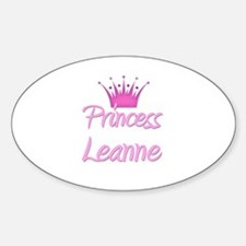 Princess Leanne Oval Decal