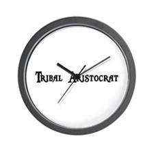 Tribal Aristocrat Wall Clock
