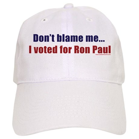 Don't blame me...I voted for Cap