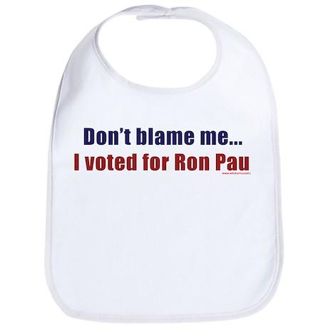 Don't blame me...I voted for Bib