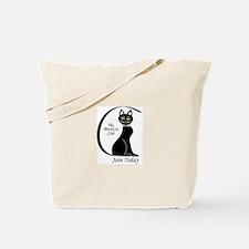 Cute Black society Tote Bag