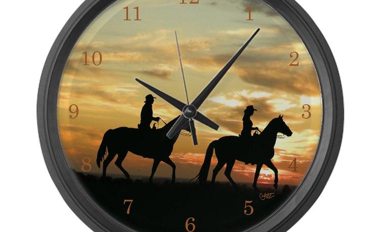 large wall clocks amazon digital clock extra cute western