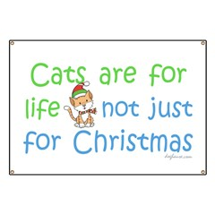 Cats are for Life Banner