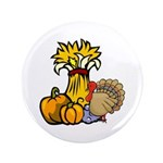 "Thanksgiving Harvest 3.5"" Button"