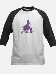Barrel racing in purple Tee