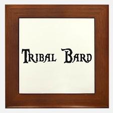 Tribal Bard Framed Tile