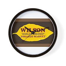 Wilson Tobacco Wall Clock