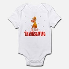My First Thanksving Baby Toddler Infant Bodysuit