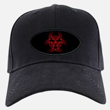 Glowing biohazard Baseball Hat