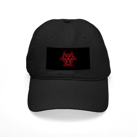 Glowing biohazard Black Cap