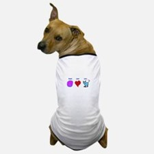 Peace Love Cats Dog T-Shirt
