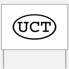 UCT Oval Yard Sign