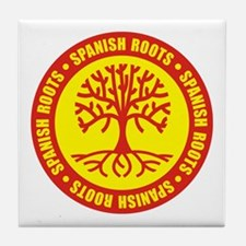 Spanish Roots Tile Coaster