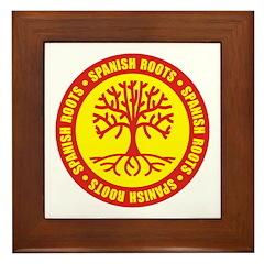 Spanish Roots Framed Tile