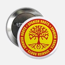 "Spanish Roots 2.25"" Button"