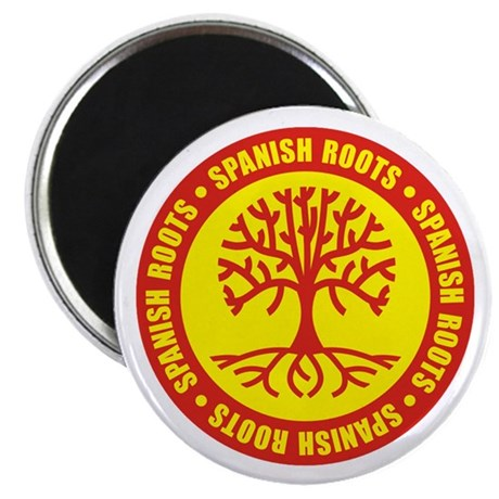 Spanish Roots Magnet