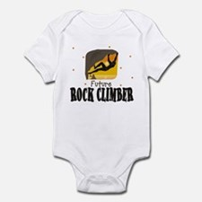 Future Rock Climber Baby Infant Bodysuit