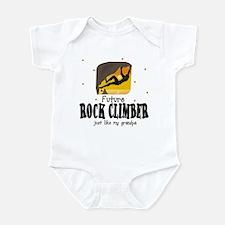 Future Rock Climber like Grandpa Infant Bodysuit