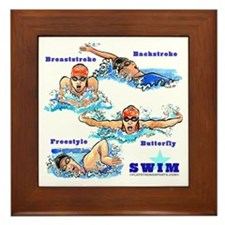 Swimming Star 2 (G) Framed Tile