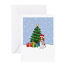 Welsh Springer Christmas Greeting Card