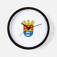 Unique Fish emblem Wall Clock