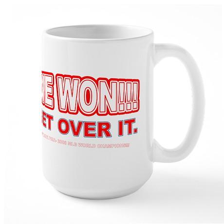 Damien's Team Actually Won... Large Mug