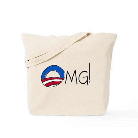 OMG! A Funny Anti-Obama Tote Bag