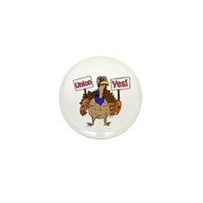 Union Yes Mini Button (10 pack)