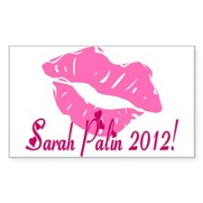 Sarah Palin 2012! Rectangle Decal